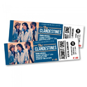 Printed Paper Event Tickets, Packaging Type: Box