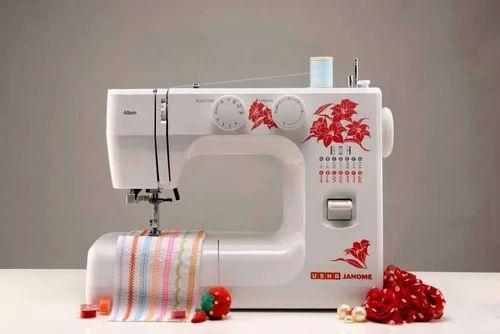 Usha Janome Allure Automatic Zig Zag Sewing Machine Capacity 860 Stitches Per Minute Rs 13500 Piece Id 16618468997