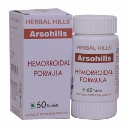 Hemorrhoids Support Formula - Herbal Piles Care Arsohills - 60 Tablets
