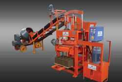 Hollow Block Making Machine Stand Type