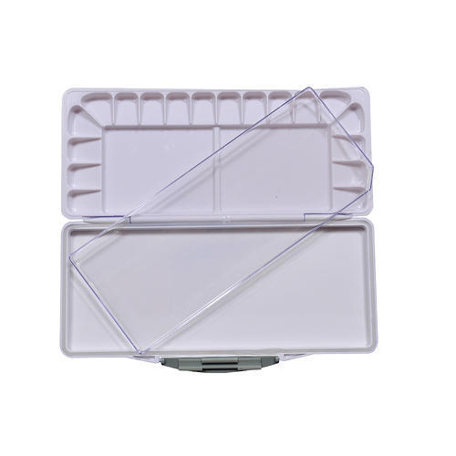 White Small Airtight Palette, Pack Type: Box