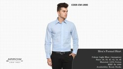 Men Full Sleeves Arrow Auto Press Cotton Formal Shirts MRP 1999