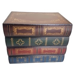 Wooden Painted Book Box