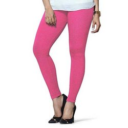 Cotton Straight Fit Pink Lux Lyra Leggings