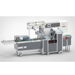 Logipac 21ES On Edge Biscuit Packaging Machine