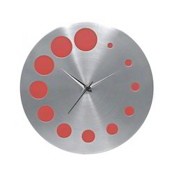 Stylish Steel Wall Clock