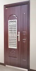 Prime Gold Brown PGMS Zink Alloy Door, Single, Thickness: 70 Mm