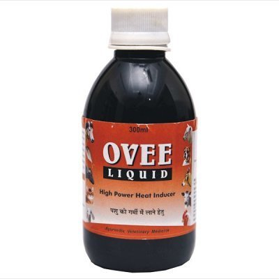 Ayurvedic Veterinary Products for Oestrus inducer Ovee Lequid