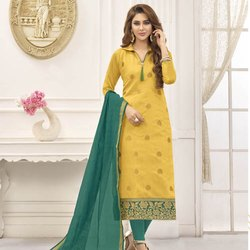 Weaving Banarasi Dress Material