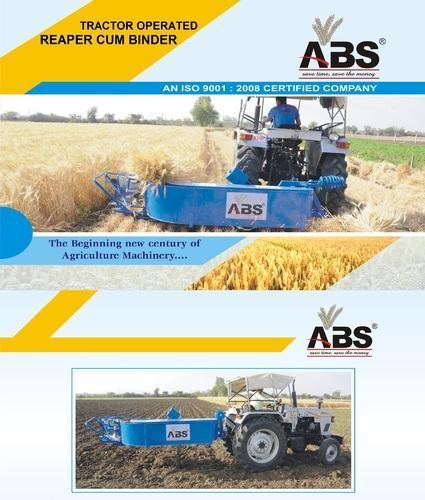 ABS Tractor Operated Reaper Cum Binder, ABS 333