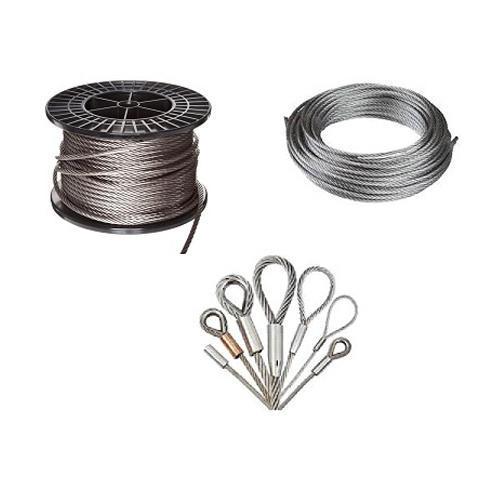 Crane Steel Wire Rope at Rs 100 /meter   Steel Wire Rope   ID ...