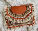 Evening Handwork Coin Clutch