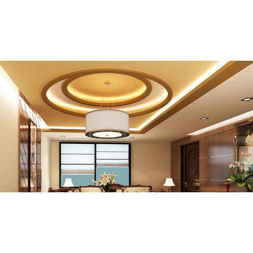 Fiberglass Water Proof Living Room False Ceiling, Rs 135 ...