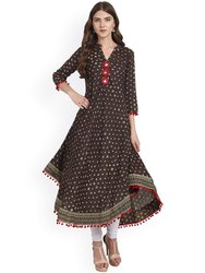 Anarkali Long Cotton Kurtis