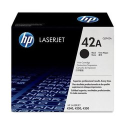 HP Q5942A 42A Black Toner Cartridge