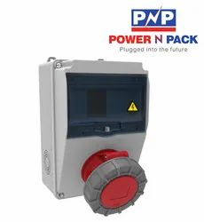 Powerpack PV04S - IP67, Combination Box, Voltage: 415V