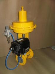 PTFE Lined Pneumatic Actuator Operated Diaphragm Valve