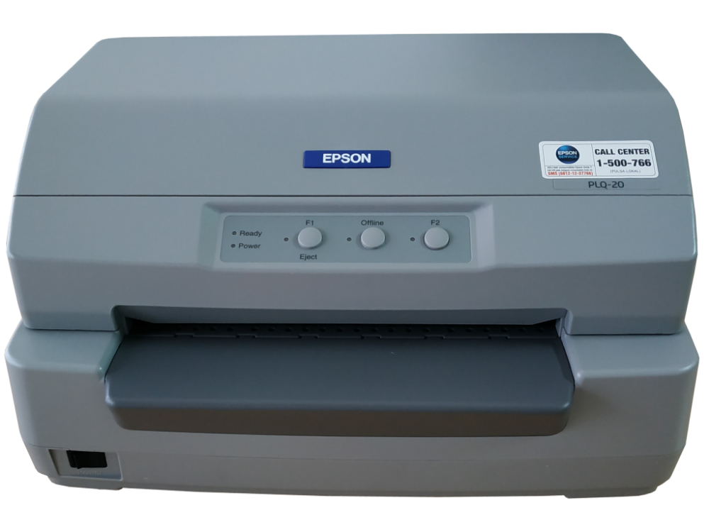 Epson PLQ-20 Black & White Impact Dot Matrix Single-Functio...
