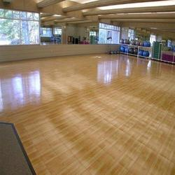 Gym Rubber Flooring At Rs 85 Square Feet Sudhama Nagar