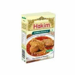 Hakim Korma Masala, Packaging Type: Box