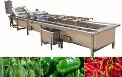 Fully Automatic Fruit And Vegetable Washer Machine