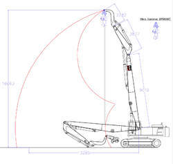 Vibro Boom Excavator Attachment