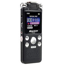 Digital Voice Recorder 8GB Audio Sound Recorder Portable Rechargeable Recording For Meeting Lectures