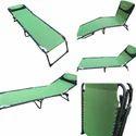 Folding Beach Bed - Green