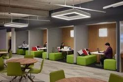Office Interiors in Banaglore, Work Provided: Wood Work & Furniture