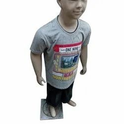Casual Wear Printed Kids Cotton T Shirts