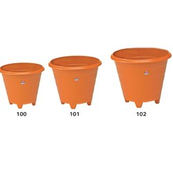 Base Stand Brown Bageecha Small Flower Planter Pots, For Garden