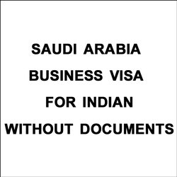 Saudi Arabia Business Visa For Indian Without Documents