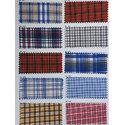 Uniform Cotton Check Fabric