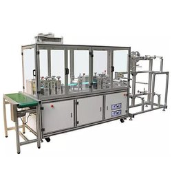 Folding Form Mask Machine (with Nose Wire)