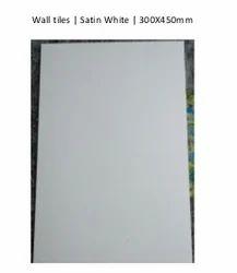 Satin White Wall tiles