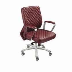Low Back Leather Office Chair