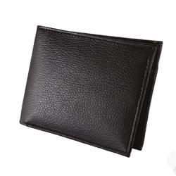 Black Leatherette Gents Wallet