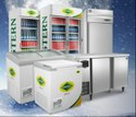 Stainless Steel Deep Freezer Upright Commercial Refrigerator