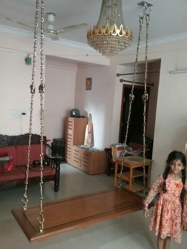 Wooden Swing Oonjal At Rs 35000 Set Park Town Chennai