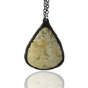 Polka Dot gemstone Pendants