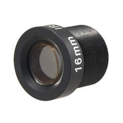CCTV Camera Lens, Dimension: 14*16.56 mm