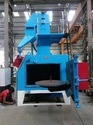 Forging/casting Parts Swing Table Type Airless/ Automatic Shot Blasting Machine