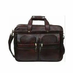 Shoulder Bag Brown Leather Executive Bags