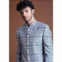 Party Printed Mens Designer Suit