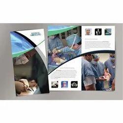 Art Card Paper Corporate Medical Brochure