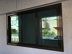 Domal Aluminum Section Sliding Window 1.5mm Heavy Section