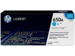 HP CE271A 650A Cyan Toner Cartridge