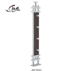 Wooden Rectangle Designer Railing Pillar
