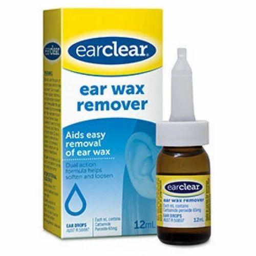 Ear Wax Removal Drops, Grade Standard: Medicine Grade, Rs ... Ear Wax Removal Drops
