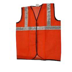 Atlas Polyester Safety Jacket, For Traffic Control